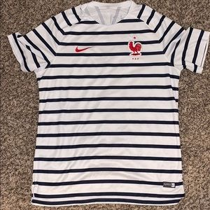 Nike France Soccer Jersey Shirt